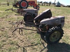 David Bradley Garden Tractors W/Implements