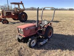 Case IH 235 Utility Tractor W/Loader & Mower Deck
