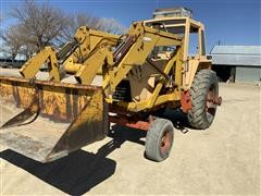 1971 Case 1070 2WD Tractor W/Loader