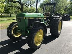 1992 John Deere 2155 MFWD Tractor