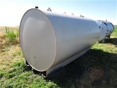 2500 Gallon Fuel Tank On Metal Skid