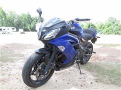 2013 Kawasaki Ninja 650 Motorcycle