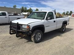 2003 GMC 2500 4x4 Pickup (INOPERABLE)