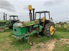 John Deere 4650 2WD Tractor (FOR PARTS ONLY)