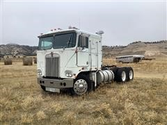 1982 Kenworth K100 T/A Cabover Truck Tractor