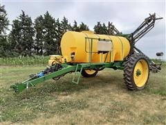 Schaben 1000 Gallon Pull Type Sprayer