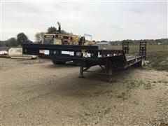2012 Viking 35 Ton VFD46R16F35T T/A Fixed Neck Lowboy