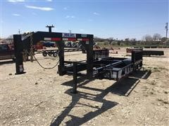 2015 Duo Lift SW24D T/A Swather Hauler Trailer