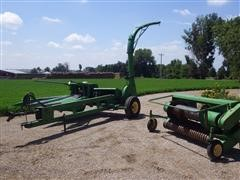John Deere 3970 Pull-Type Forage Harvest W/(2) Heads