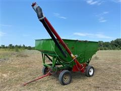 Gravity Box Seed Tender Wagon
