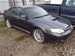 2007 Subaru Legacy Spec B 4 Door Sedan