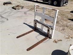 Shop Built Loader Forks