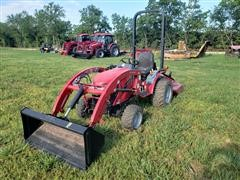 Mahindra HST EMax 25 4WD Compact Tractor
