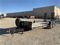 2006 Liberty TravAlong T/A Flatbed Trailer