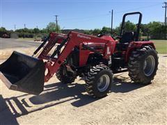 2017 Mahindra 4540 MFWD Tractor W/Loader