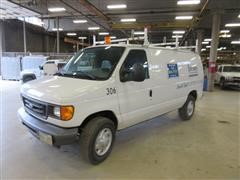 2007 Ford E250 Service Van