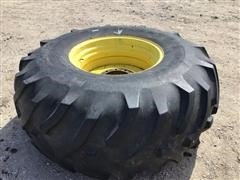 Co-Op Agri-Power LSB 30.5L-32 Combine Tire & John Deere Rim