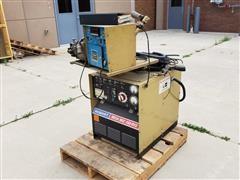 Hobart Mega-Mig 450RVS Welding Power Source W/Wire Feeder