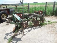 Oliver 4 Bottom Plow With Harrow