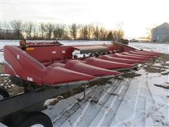 2010 Case IH 2608 Corn Head & Trailer