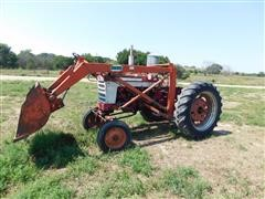 McCormick Farmall 340 Tractor With DuAl Loader/Stacker