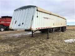 1998 Fab-Tech Hopper T/A Grain Trailer
