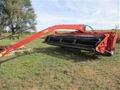 Case IH 8370 14' Hydroswing Windrower