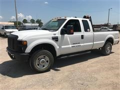 2009 Ford F250 XL Super Duty 4x4 Extended Cab Pickup
