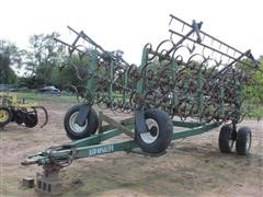 Baker 3 Bar Cultivator With 2 Bar Harrow
