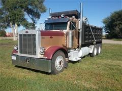 1993 Peterbilt 379 T/A Dump Truck