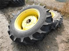 Galaxy 14.9-28 Tires On JD Rims