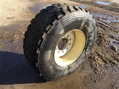 445/65-R 22.5 Feeder Wagon Tire & Rim