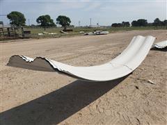 Behlen Curved Exterior Sheeting/Windbreak Panels