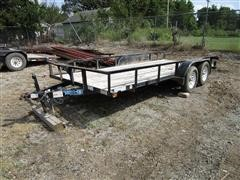 2013 Top Hat 6.5' X 16' T/A Utility Trailer