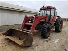 1991 Case IH 5130 MFWD Tractor W/Loader