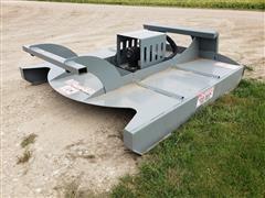 2019 Hawz Heavy Duty Rotary Cutter Skid Steer Attachment