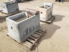 Peterson Automatic Heated Concrete Livestock Waterer