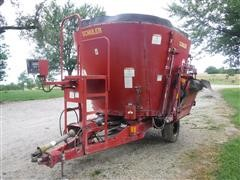 2000 Schuler 4510 Vertical Mix Feed Wagon