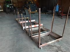 Homemade 4 X 4 & 2 X 4 Caster Wheel Carts