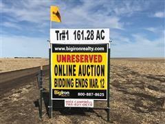161.28+/- Acres Cheyenne County, KS