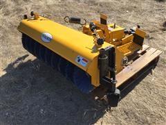 2012 Walker 6650-B Front Broom Attachment