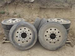 Truck Trailer Tires & Aluminum Rims