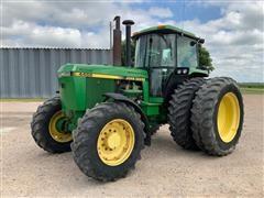 1989 John Deere 4455 MFWD Tractor
