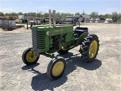 1948 John Deere M 2WD Tractor