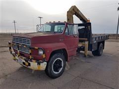 1987 Ford F700 Boom Truck