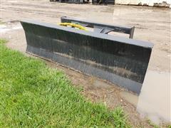 2020 Mid-State 6' Wide Tilt Dozer Blade Skid Steer Attachment