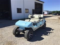 Club Car Crew Cab Gas Golf Cart
