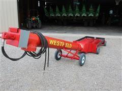 Westfield MK100LP Pivot Hydraulic Driven Hopper Auger