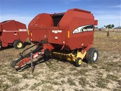 2006 New Holland BR770A Large Round Baler