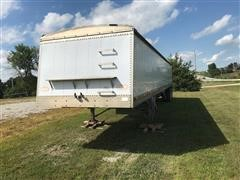 1987 Chamberlain T/A Hopper Bottom Grain Trailer